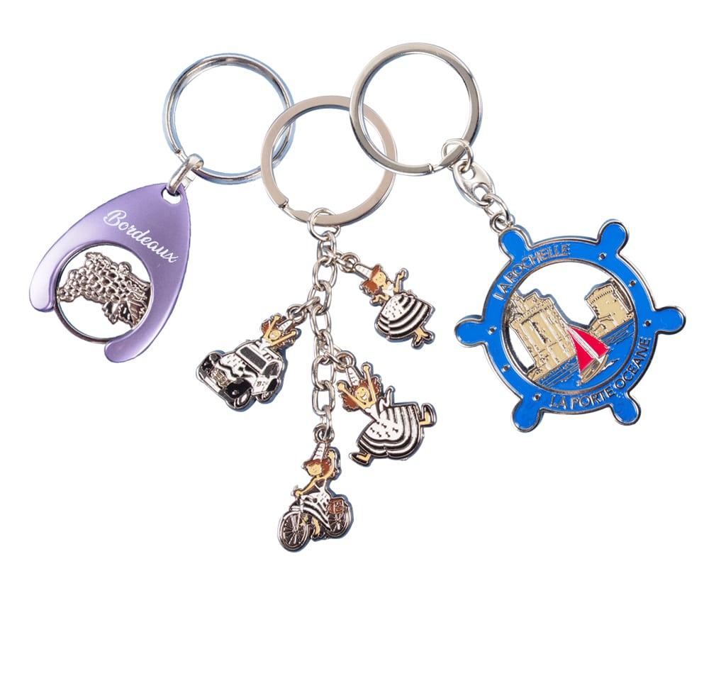 Coin keychains